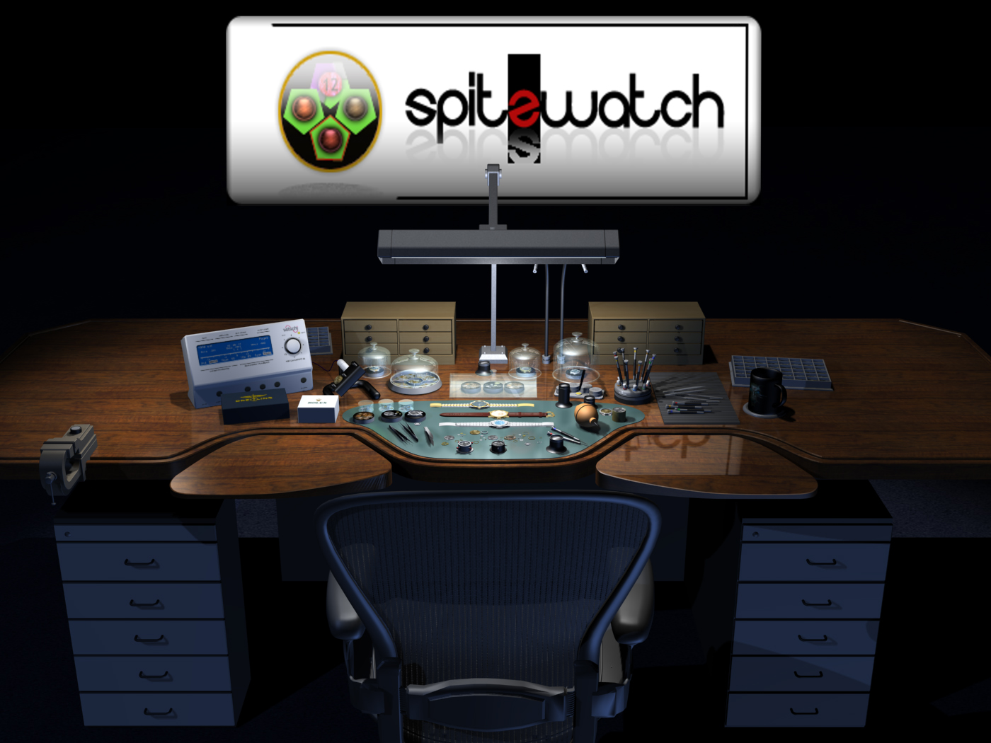 Dan spitz watches and watchmaker bench medusawatches Watchmakers bench